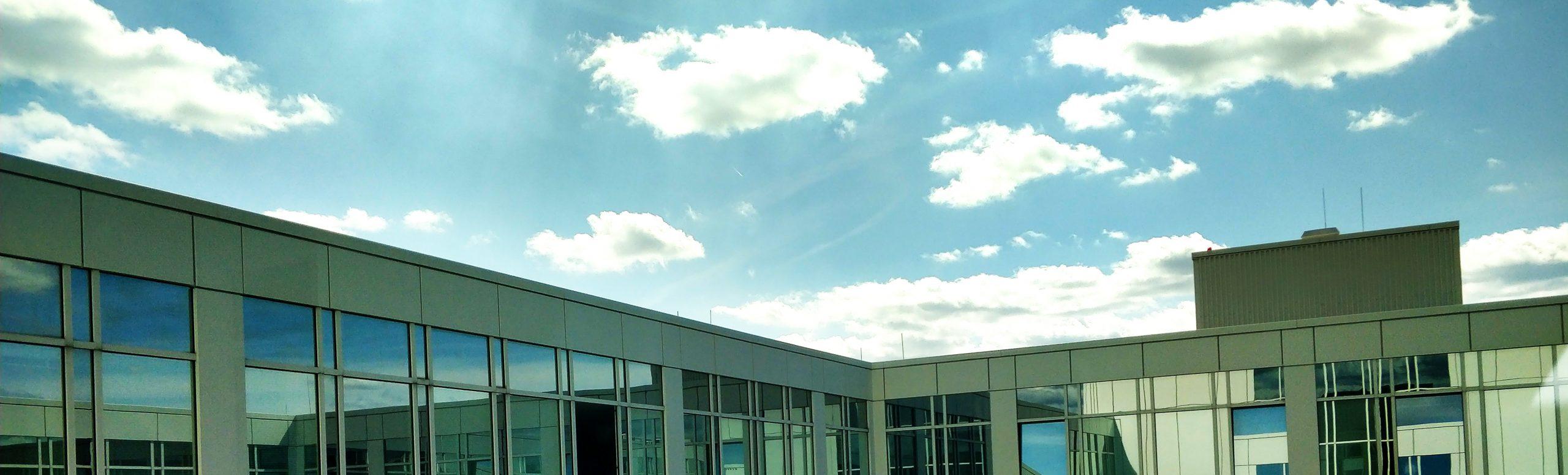 Ein Blick aus dem Mercurcap Fenster