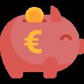Ein Icon für Geld sparen